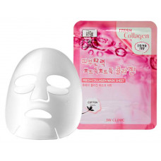 [3W CLINIC] Тканевая маска для лица КОЛЛАГЕН Fresh Collagen Mask Sheet
